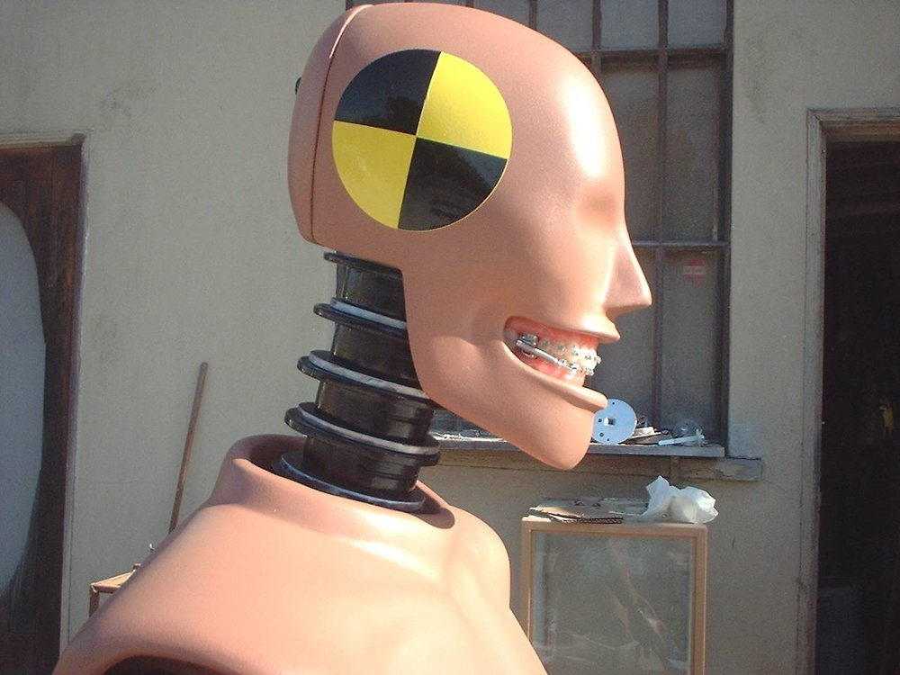 A customized Faux Crash Test Dummy
