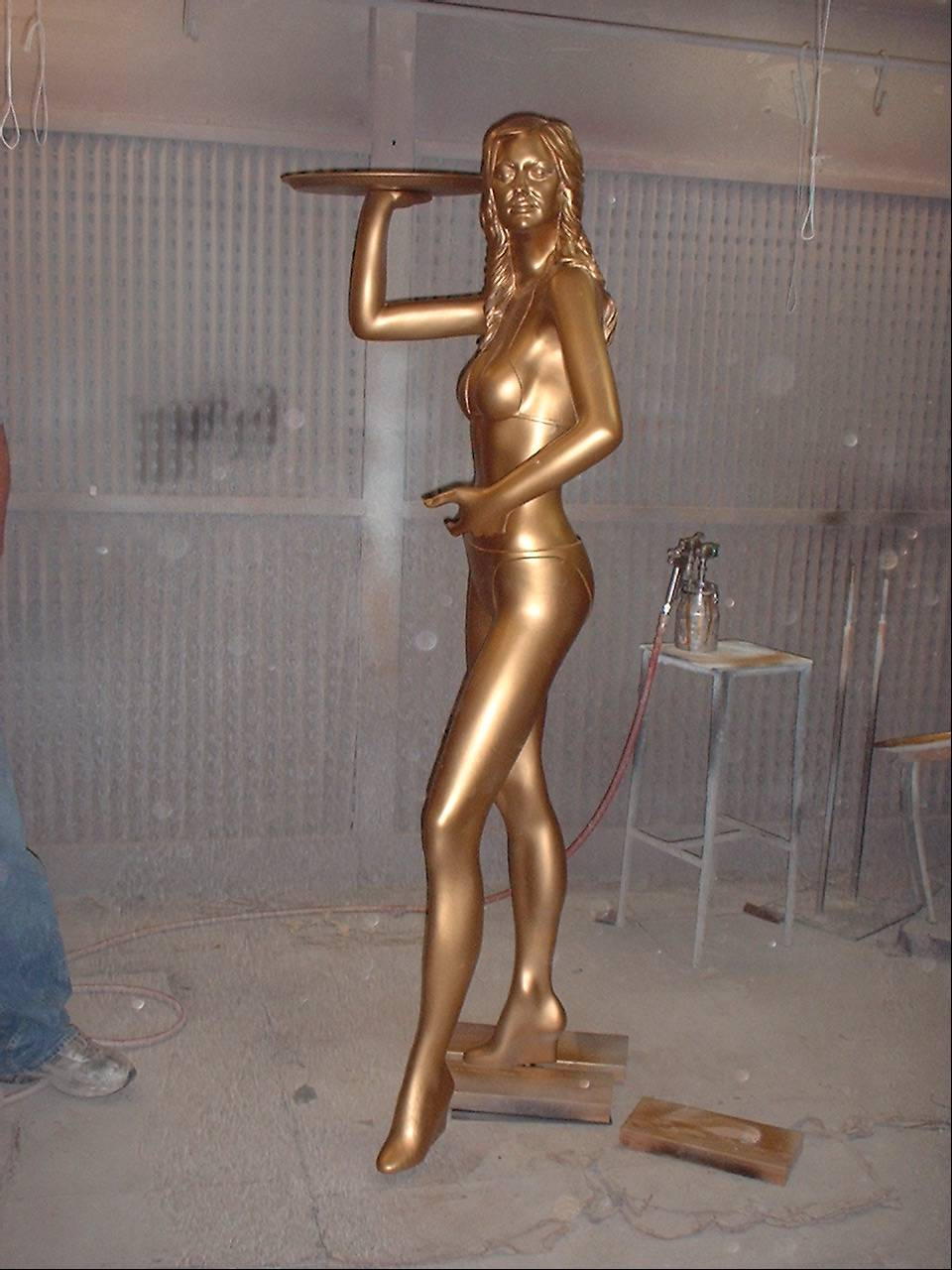 "Statue Created for ""Trophy Wife"""