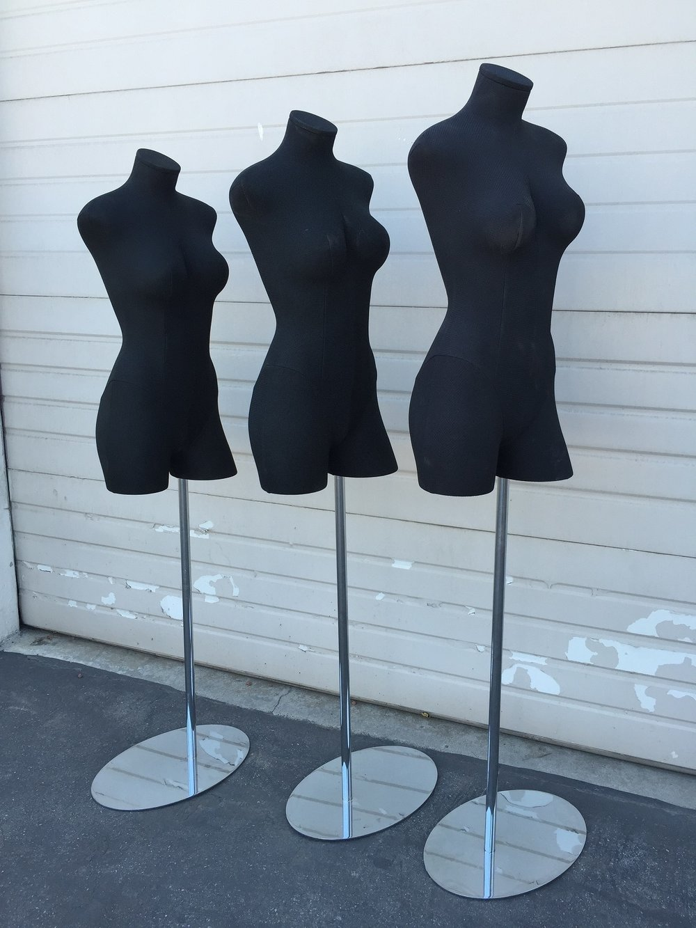 Female Fabric 3/4 Forms