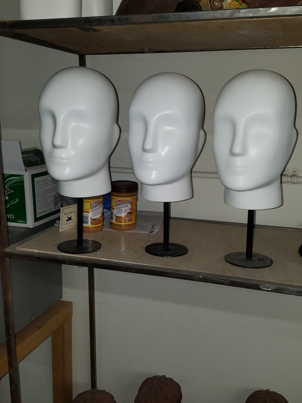 Male Semi-Abstract Heads