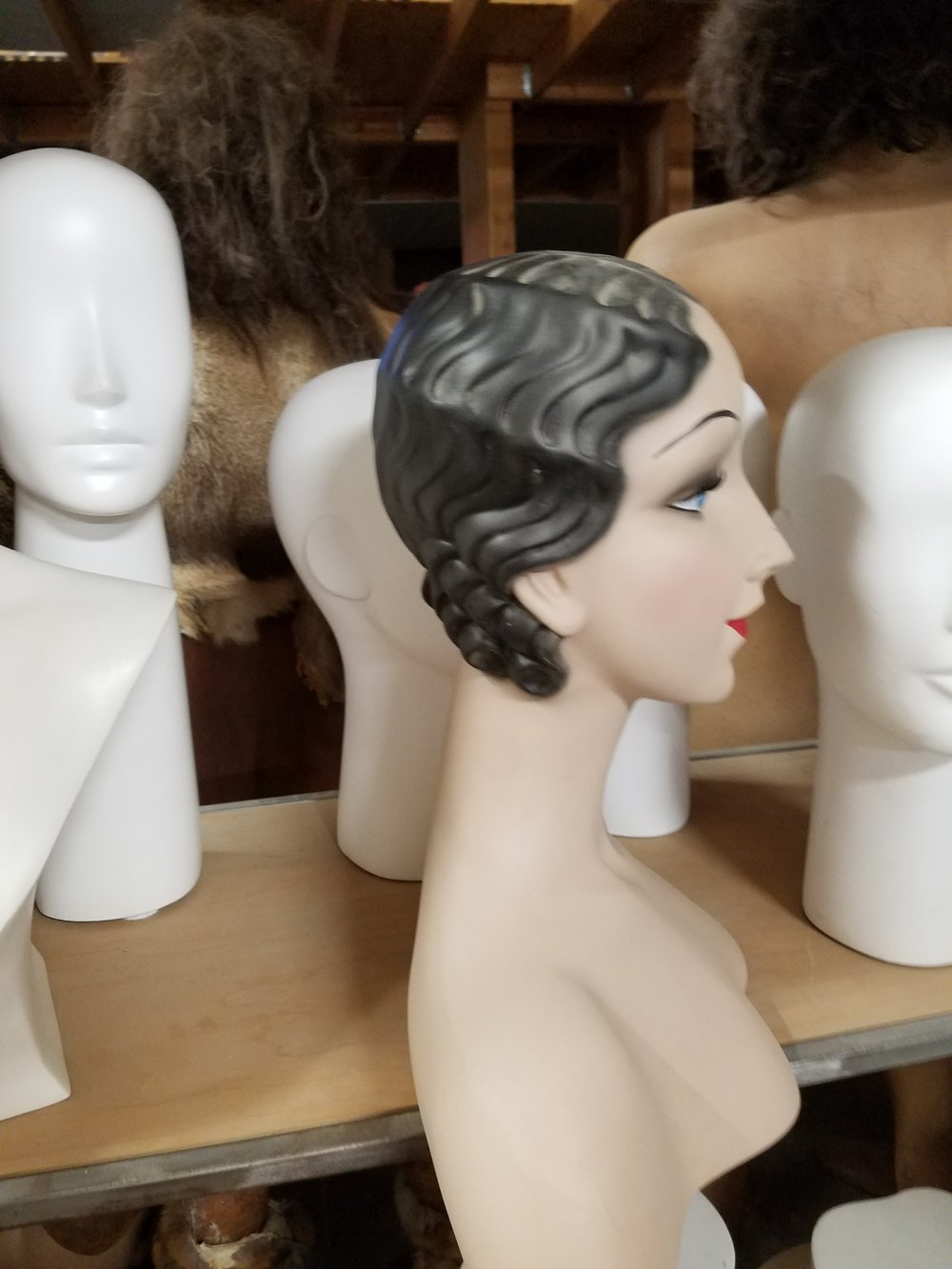 1920's Head Form Profile