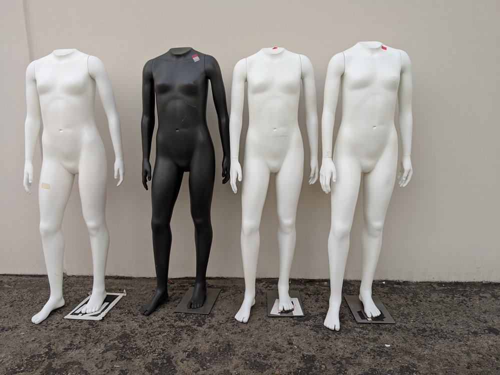 Headless Teen Girl Mannequins
