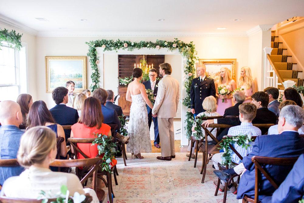 Intimate Secret Garden Wedding