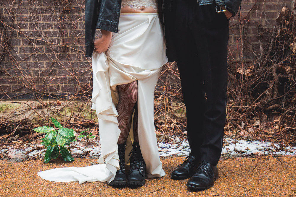 Rock n Roll Wedding Inspiration Shoot