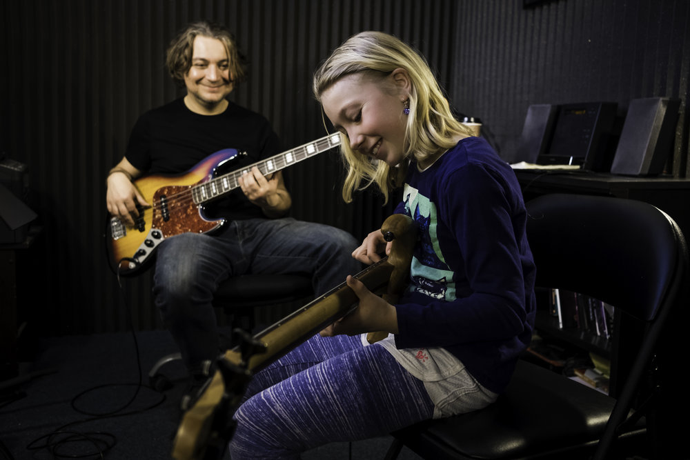 Bass Lessons - Aram Bedrosian