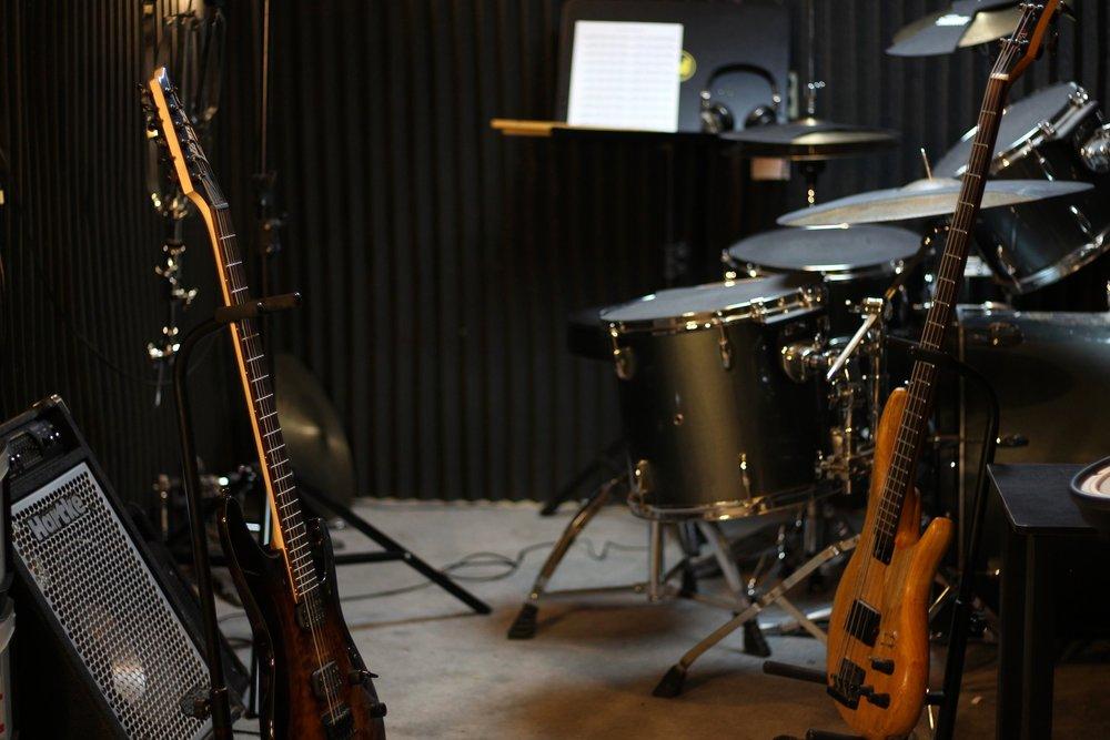 Rehearsal Space - Burlington Music Dojo