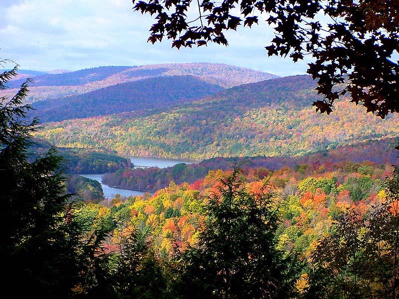 The beautiful Catskills in the changing seasons