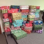 2017 Christmas Shoeboxes Ready for Delivery!
