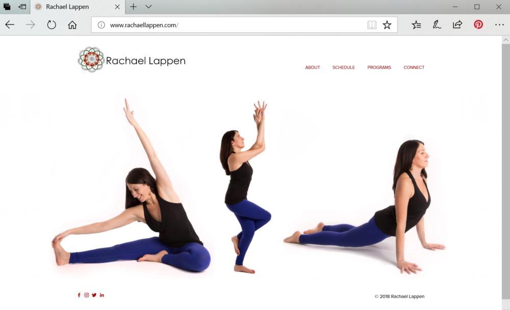 Rachel Lappen Yoga |  www.rachaellappen.com