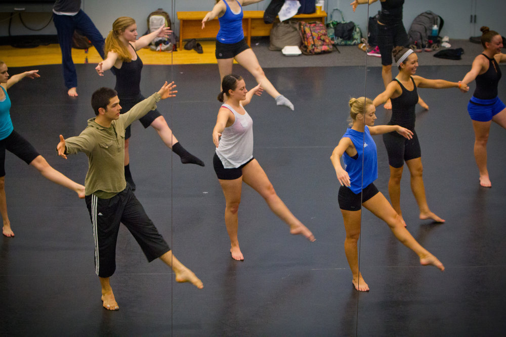 Residency with Doug Varone & Dancers in Theater and Dance Studio in the Center for the Arts