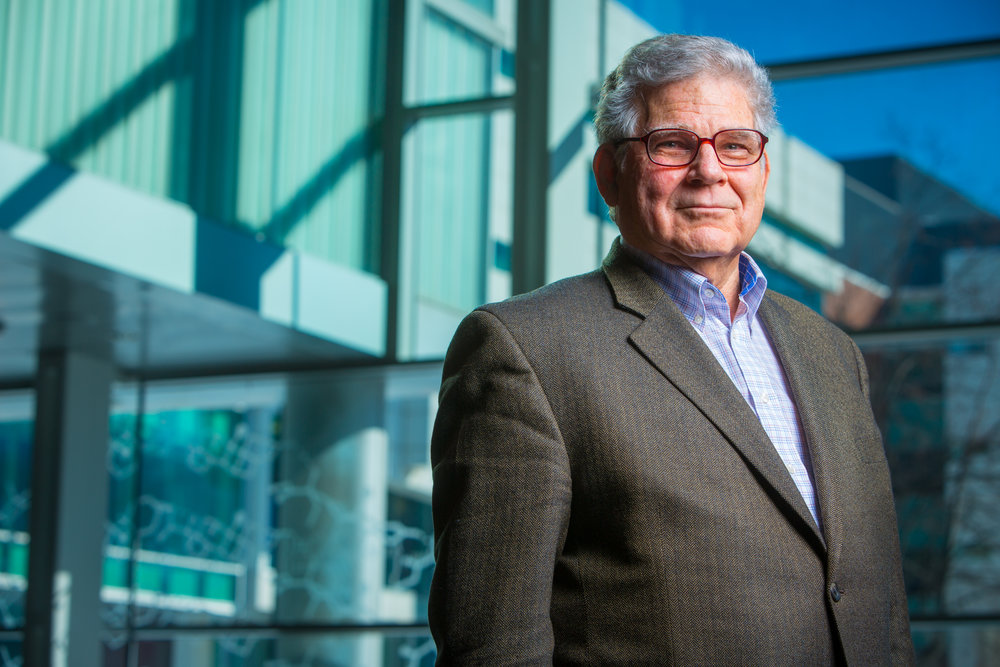 Portrait of Dr. Eaton Lattman, Chief Executive Officer and Executive Director of the Hauptman-Woodward Institute.
