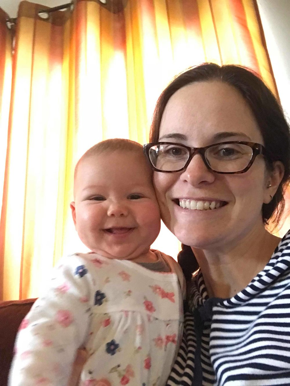 Selfies. - (The only recent photos I have with my own daughter!)