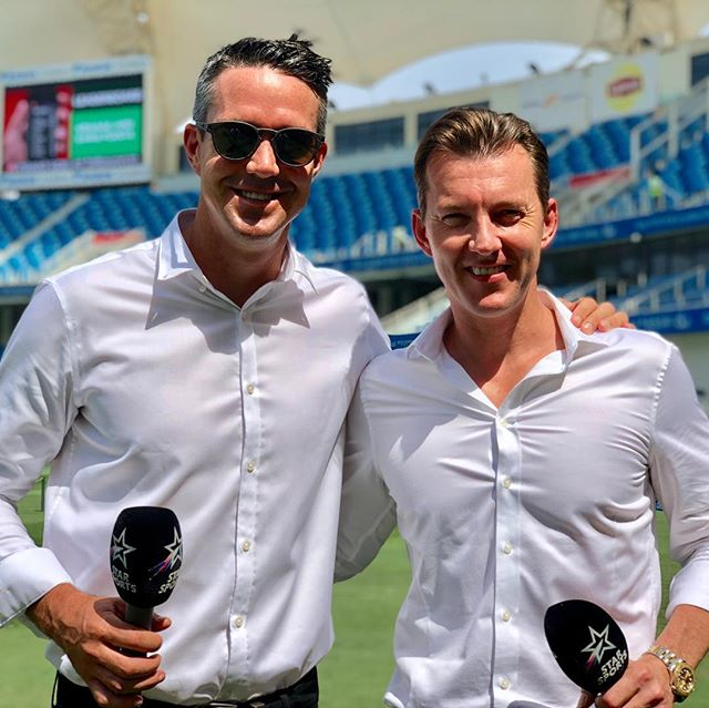 Been a fun week working with this legend @kp24  Good mates although you wouldn't of thought so with bat and ball in hand @starsportsindia