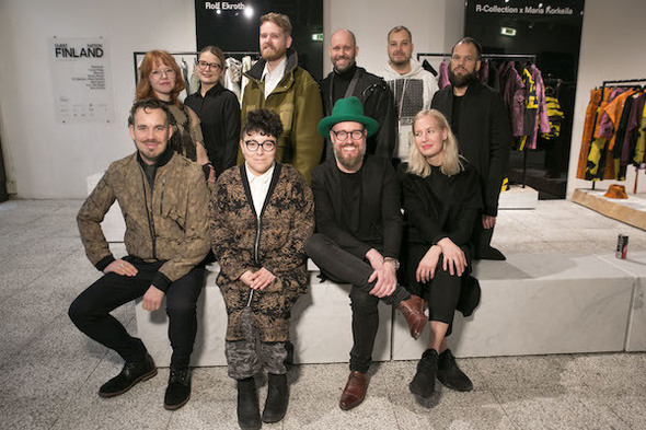 PHOTO BY PROJ3CT STUDIO, COURTESY OF PITTI IMMAGINE  The designers of Guest Nation Finland