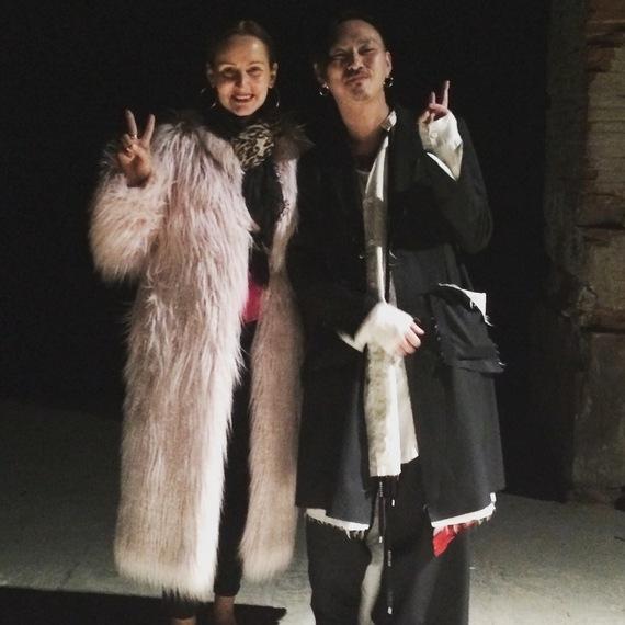 E. Nina Rothe with Teppei Fujita of Sulvam