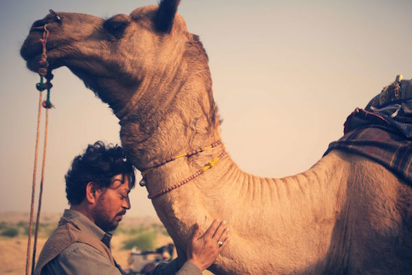 COURTESY OF THE LOCARNO FILM FESTIVAL  Irrfan Khan in a still from Anup Singh's 'The Song of Scorpions'