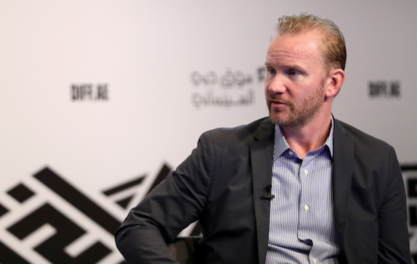 "PHOTO BY VITTORIO ZUNINO CELOTTO/GETTY IMAGES FOR DIFF  ""In Conversation with Morgan Spurlock"" at this year's Dubai International Film Festival"