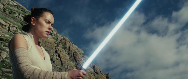 PHOTO COURTESY OF DISNEY  Daisy Ridley as Rey