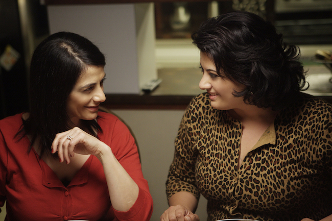 Hiam Abbass and Nisreen Faour in a still from 'Amreeka'