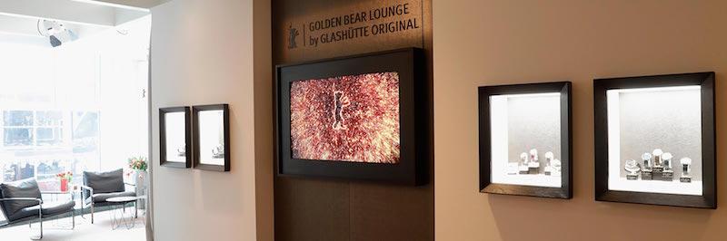 The Golden Bear Lounge by Glashütte