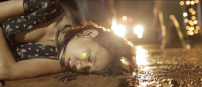 Trimala Adhikari in a still from Q's 'Garbage'