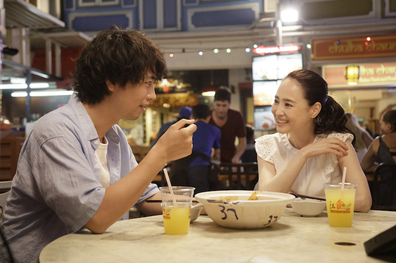 Takumi Saitoh and Seiko Matsuda in a still from Eric Khoo's 'Ramen Teh'  Photo courtesy © Zhao Wei Films/Wild Orange Artists