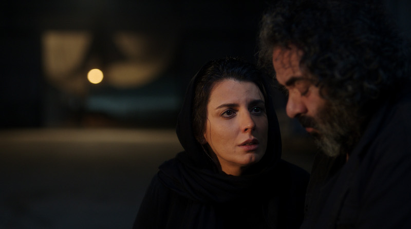 Leila Hatami with Hasan Majuni in a still from Mani Haghighi's 'Pig'