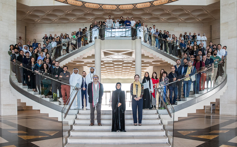 The Qumra class of 2017, photo courtesy of the Doha Film Institute