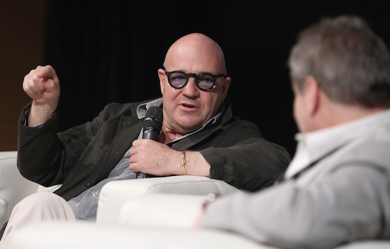 Gianfranco Rosi gave a Masterclass at this year's Qumra