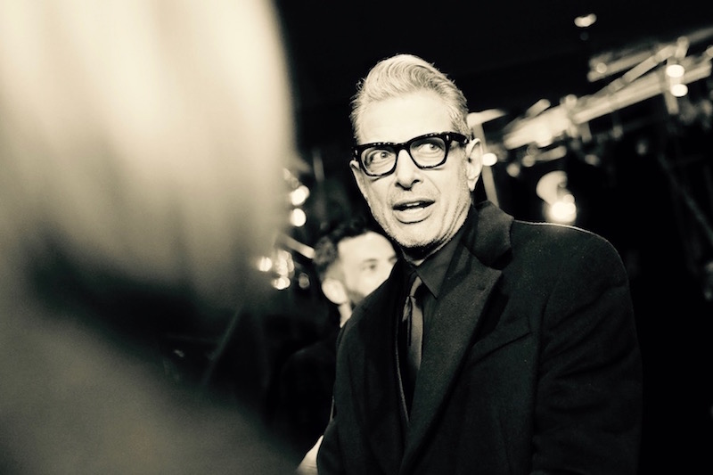 Jeff Goldblum photographed on opening night of the Berlinale 2018, on the red carpet for Wes Anderson's 'Isle of Dogs'  Photo courtesy of Berlinale