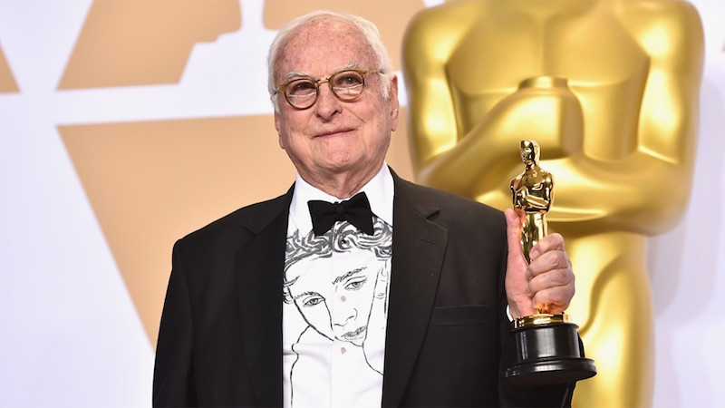 James Ivory at the 2017 Oscars