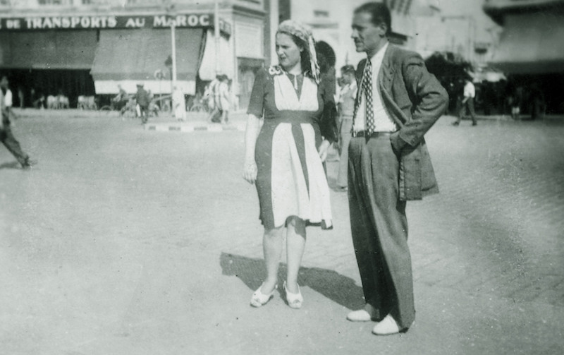 Hédi Jouini and Ninette in 1946