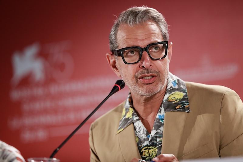 Jeff Goldblum, photo courtesy of La Biennale di Venezia, ASAC