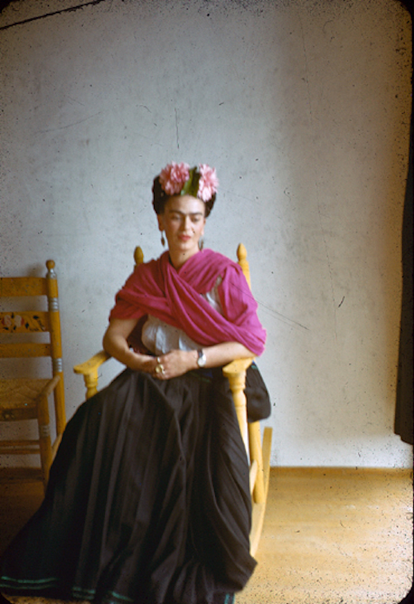 Frida Kahlo by Nickolas Muray