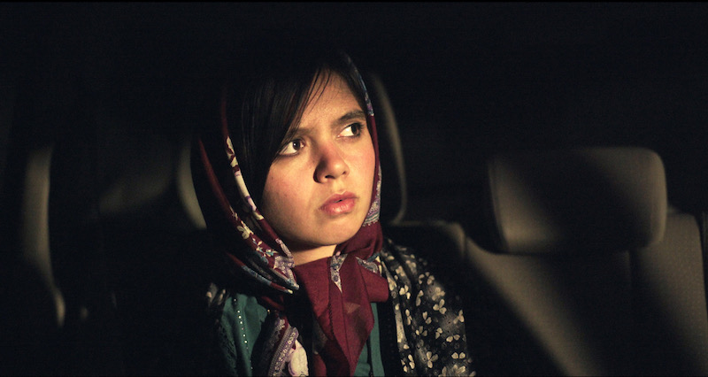 Marziyeh Rezaei in a still from the film