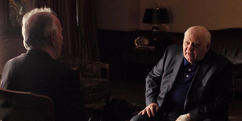 A still from 'Meeting Gorbachev'