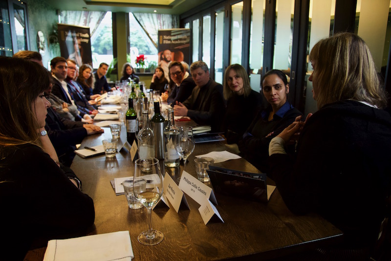 The National Youth Film Academy roundtable luncheon at Brasserie Blanc, Southbank
