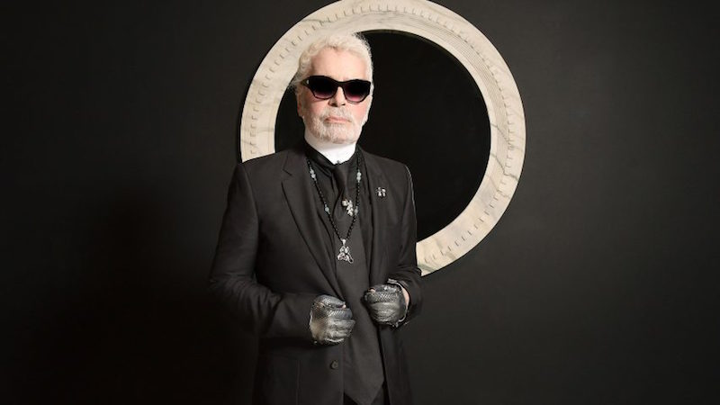 The day I met Karl Lagerfeld - Well, almost…