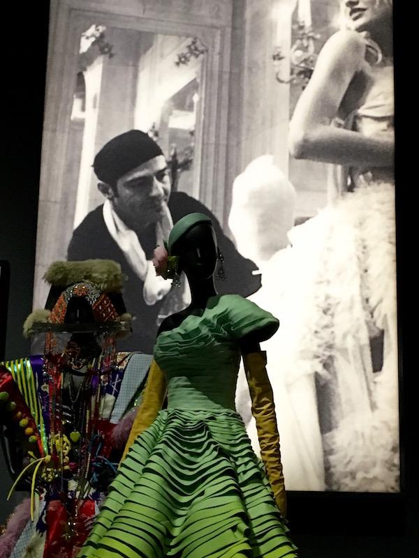 Designer John Galliano designed for Christian Dior from 1996 to 2011