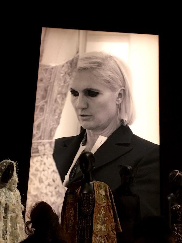 Designer Maria Grazia Chiuri is the current artistic director at the Maison Dior