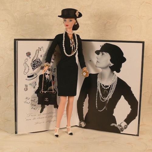 The Coco Chanel Barbie, custom made