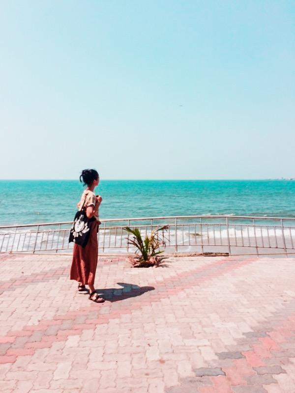 Eroded Shoreline at Fort Kochi Beach, Fort Kochi