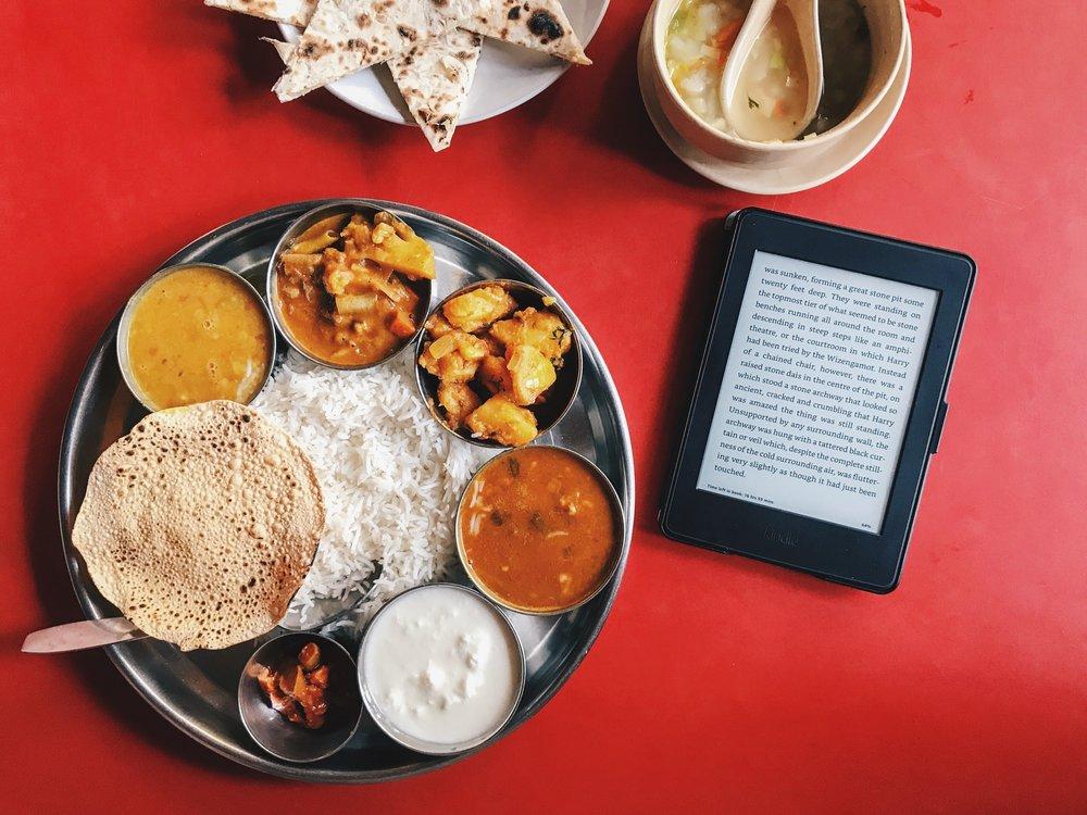 Thali at Shree Ganesh