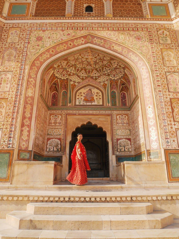 The stunning Amber Palace