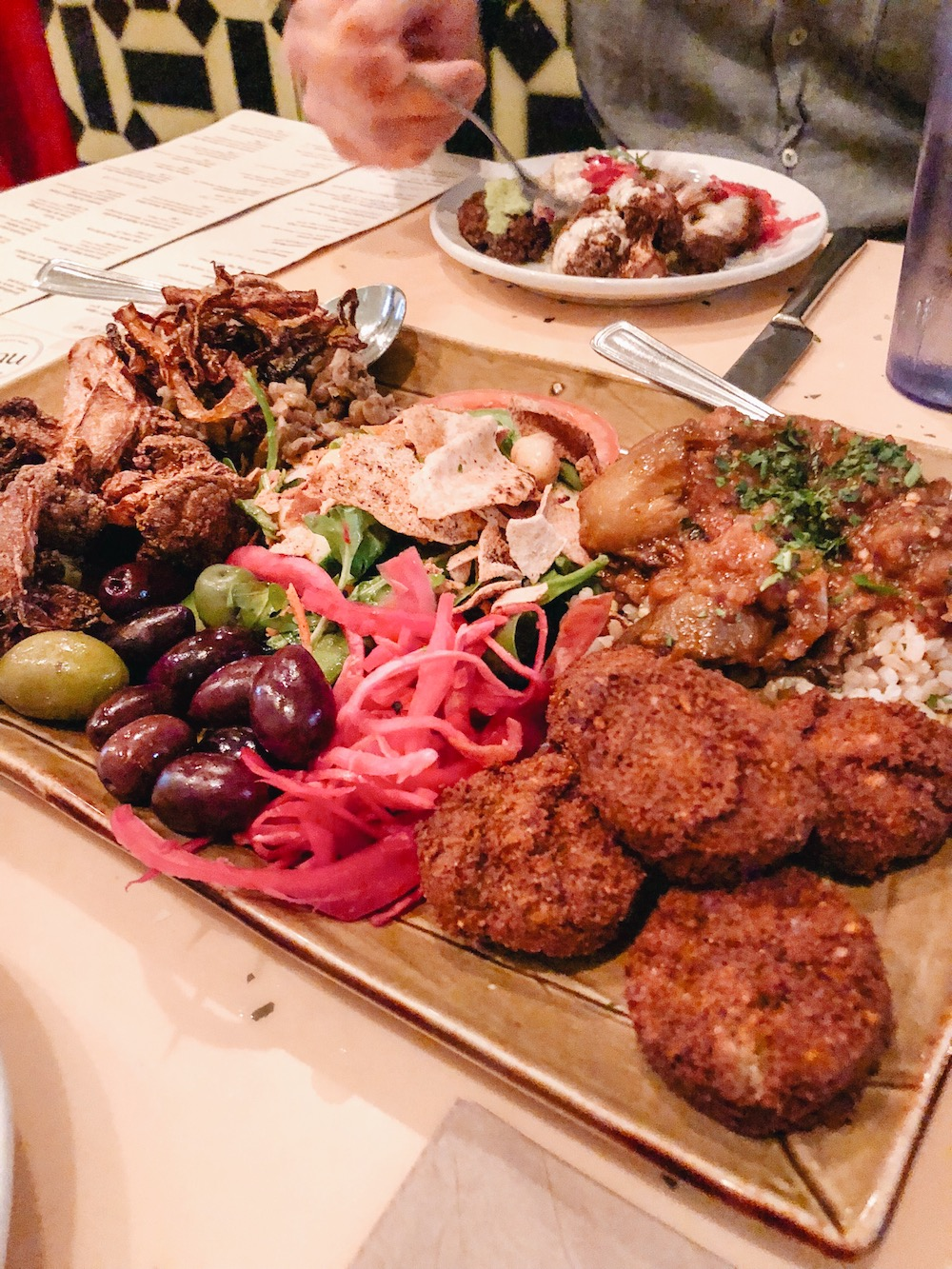 Second part of Le Feast from   NUBA   (the first is bread and dips)