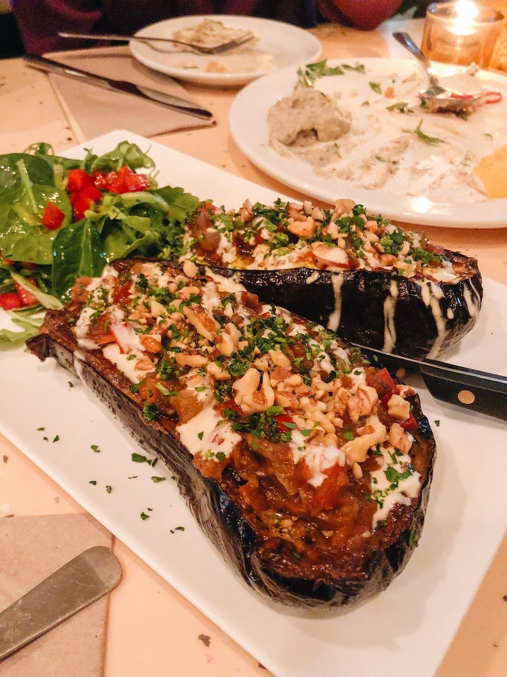 Roasted Eggplant from   NUBA