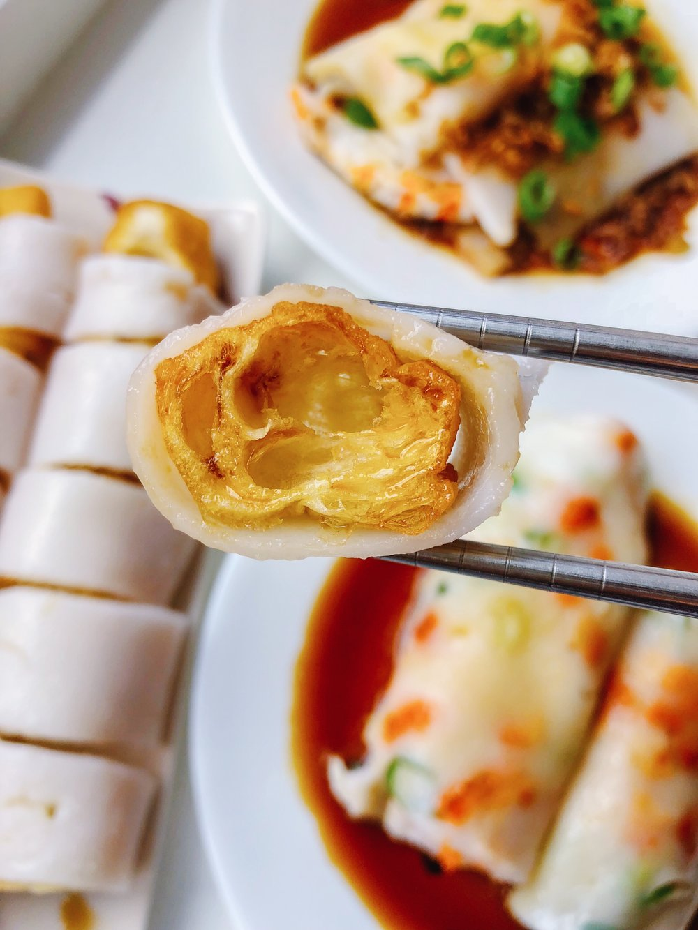 I personally think Zha Leung is one of the most delicious ways to eat Cheung Fun!