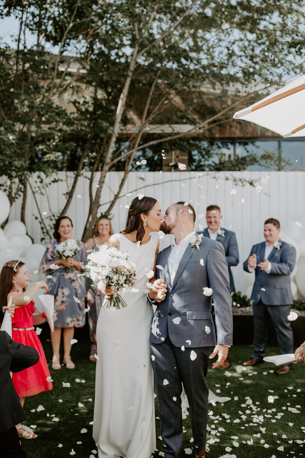 Share your vows in our intimate Private Garden -