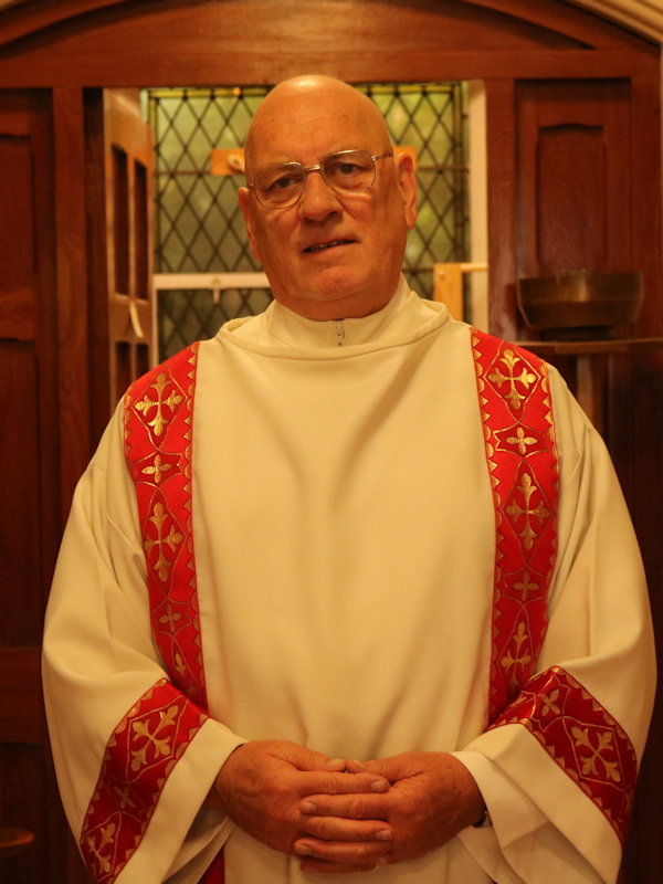 Rev Joe McGunigle  Permanent Deacon