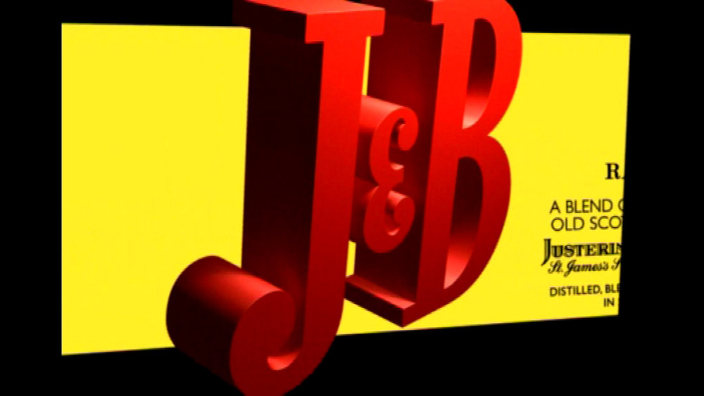 Motion Graphics  - J&B for Diageo.